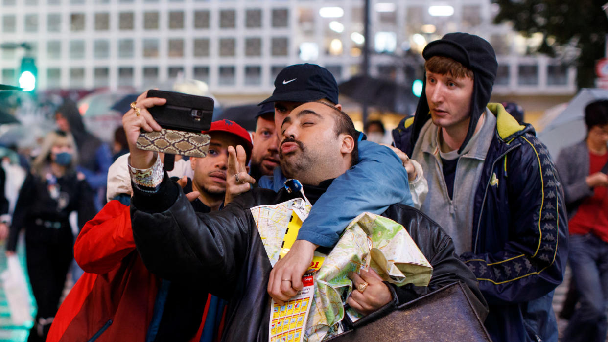 Asim Chaudhry and the rest of the stars of 'People Just Do Nothing' reprise their roles as Kurupt FM heads to cinemas with 'Big In Japan'. (Universal)