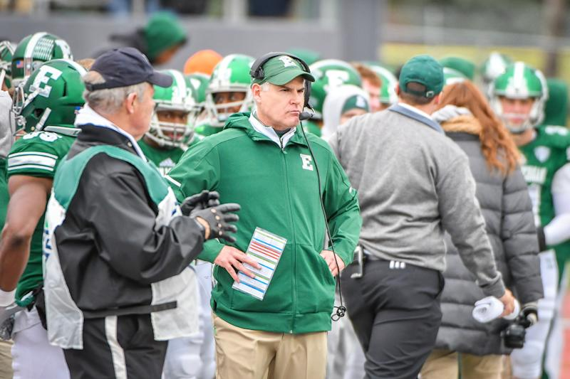 With a win, Eastern Michigan can clinch back-to-back winning seasons for the first time since 1988-89. (Photo by Steven King/Icon Sportswire via Getty Images)