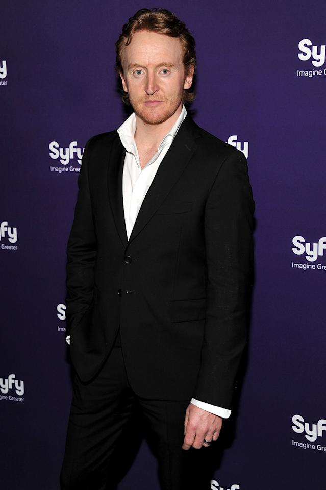 """Tony Curran (""""<a href=""""http://tv.yahoo.com/defiance/show/48437/"""">Defiance</a>"""") attends Syfy's 2012 Upfront event at the American Museum of Natural History on April 24, 2012 in New York City."""