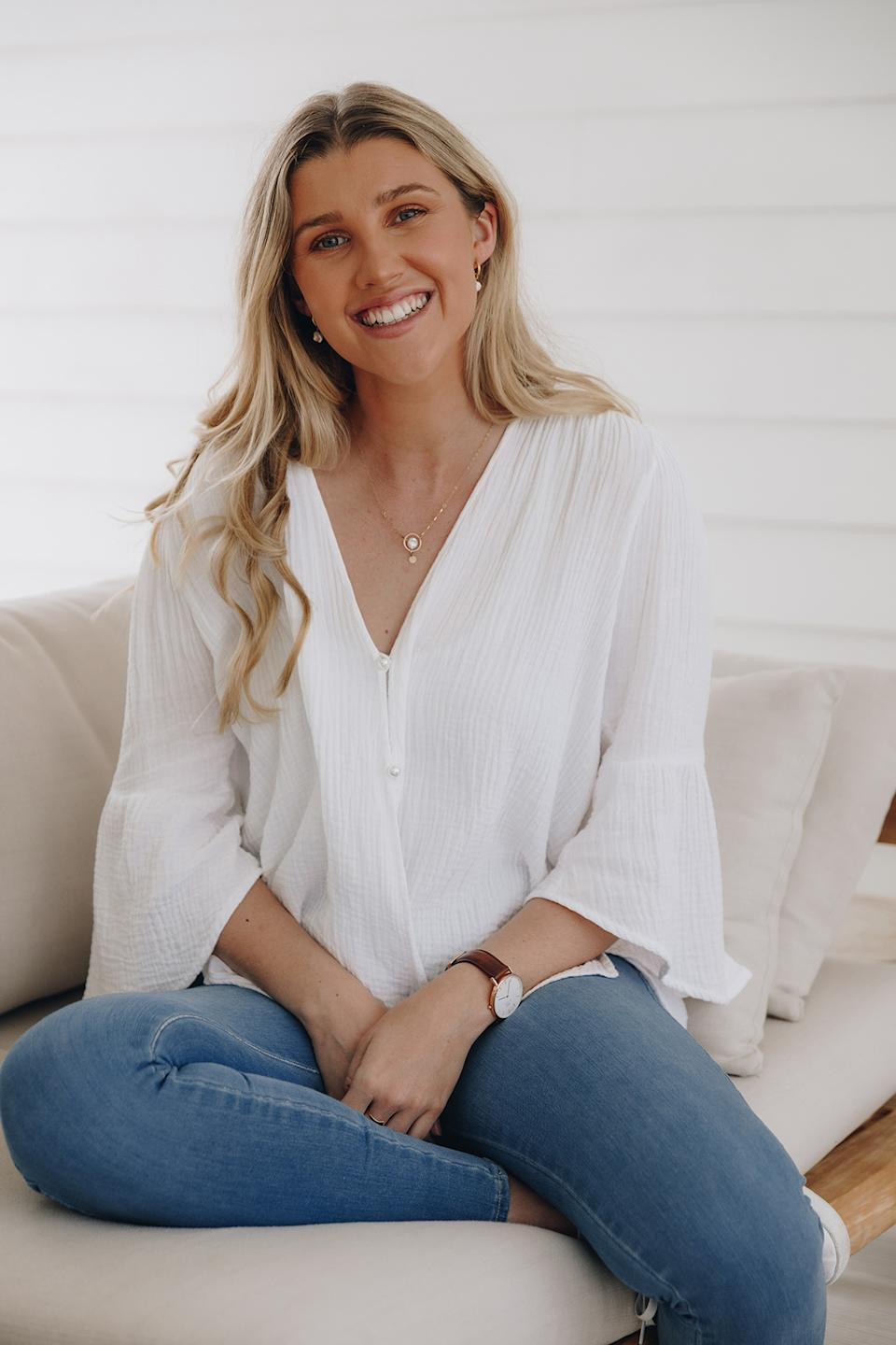 Rhiannon Duke of Duke the Label shares why she ditched 'large' sizing. Photo: Supplied
