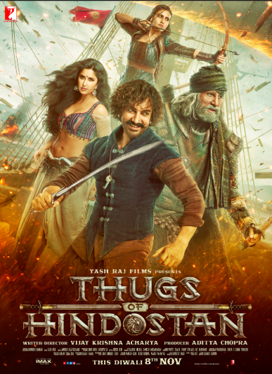 <p>Star Cast – Aamir Khan, Amitabh Bachchan, Katrina Kaif<br />Budget – Rs 335 crore<br />Box Office collections – Rs 140 crore </p>