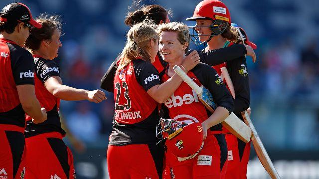 The Renegades were thanking their lucky stars. Image: Getty