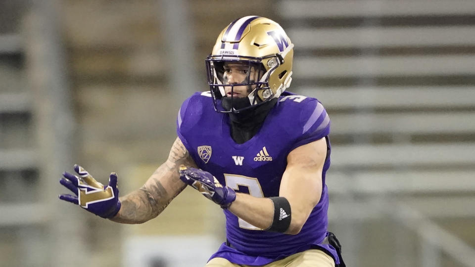 Washington defensive back Elijah Molden has been one of the best slot corners in college football in recent years. (AP Photo/Ted S. Warren)
