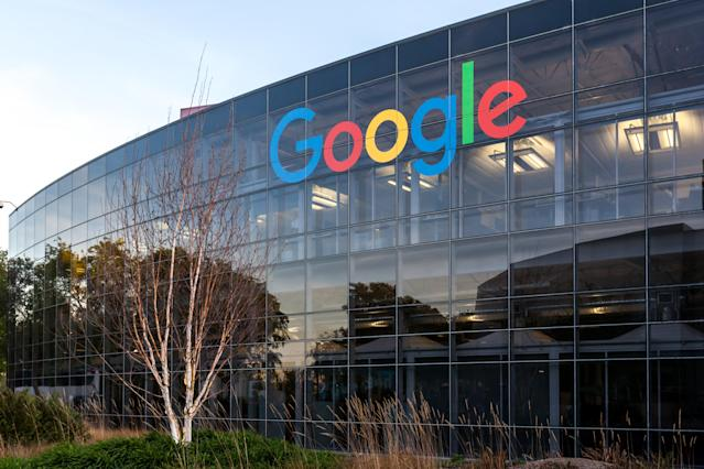 Mountain View, California, USA - March 28, 2018: Google sign at Google's headquarters in Silicon Valley. Photo: Getty Creative