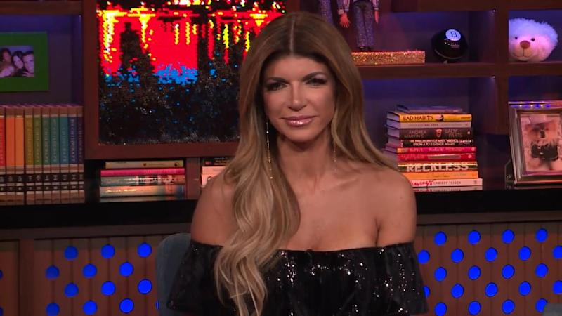 Teresa Giudice Says Husband Joe Watches Her on TV in Prison: 'They Love Bravo There'