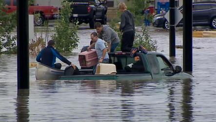 The city of Calgary and several Alberta communities are under a state of emergency due to severe flooding from heavy rains