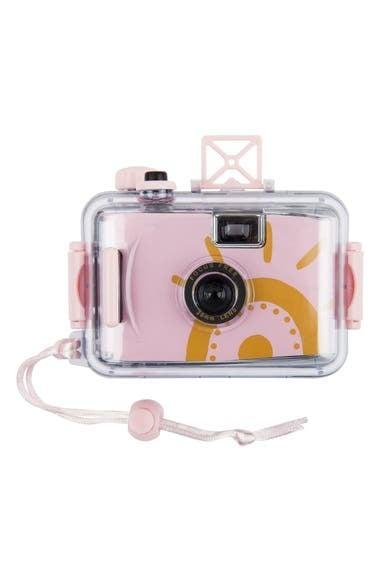 <p>Don't worry about ruining your electronics for the perfect adventurous picture; the <span>Sunnylife Desert Palms Underwater Camera</span> ($24) has got you covered.</p>