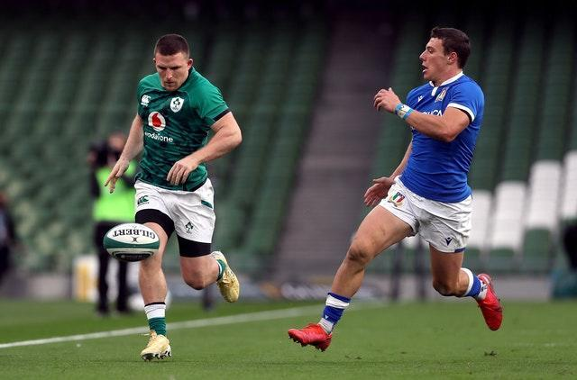 Italy's Paolo Garbisi impressed despite being on the losing side