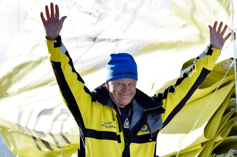 Yachting - Dutchman finishes Vendee Globe -- 42 days after winner