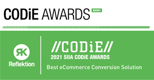 """""""Everything Reflektion offers is designed to provide a more accurate and optimized experience to your customers,"""" said Amar Chokhawala, Founder and CEO, Reflektion. """"From search to sale, we help you create relevant experiences that drive conversions. We are honored to be recognized by the SIIA for the Best eCommerce Conversion solution."""""""