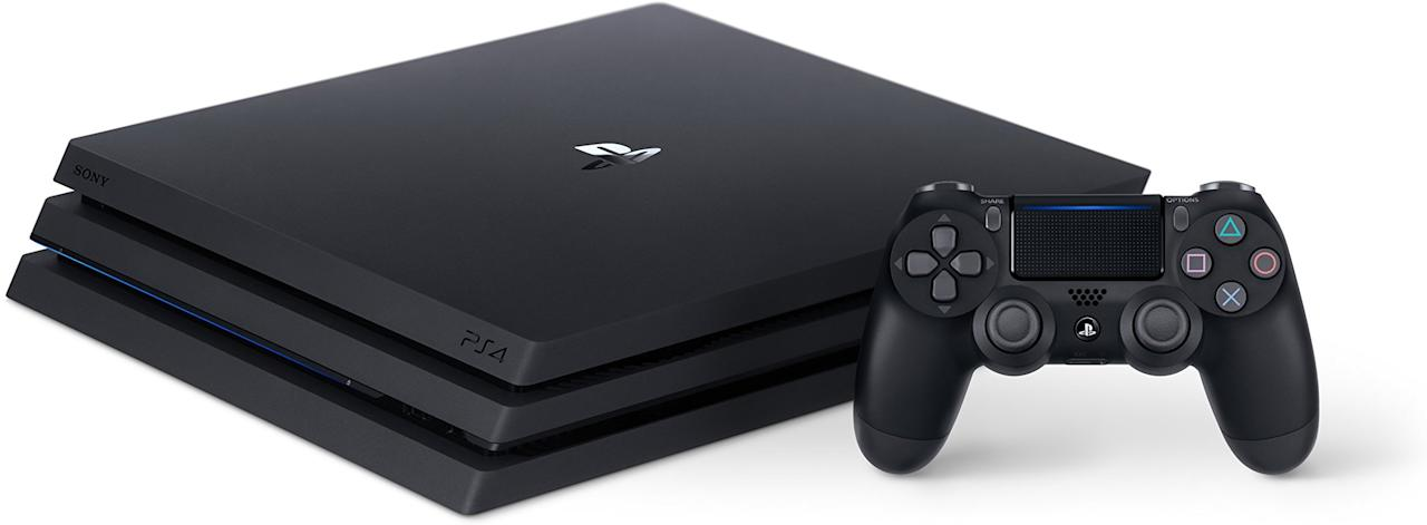 """<p><a rel=""""nofollow"""" href=""""https://www.amazon.com/PlayStation-4-Pro-1TB-Console/dp/B01LOP8EZC/?tag=syndication-20"""">BUY NOW</a></p><p>The PS4 Pro outputs in 4K ultra high definition, which will ensure that you get the highest quality picture possible from your game.</p>"""