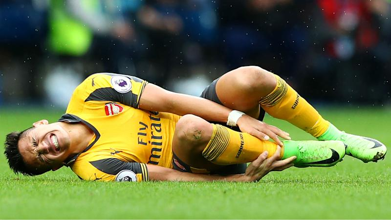 Sanchez ankle in a terrible state - Wenger reports on Arsenal star's injury
