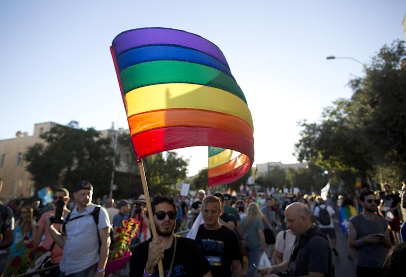 Thousands March in Jerusalem's Gay Pride Parade One Year After Deadly Attack