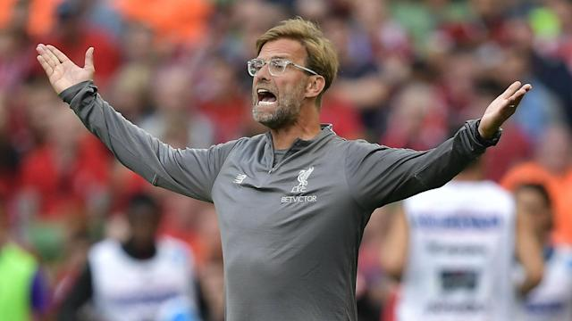 Flying start: Jurgen Klopp's side have begun the season in fine form