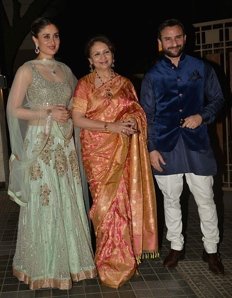 Sharmila Tagore, Saif Ali Khan and Kareena Kapoor Khan