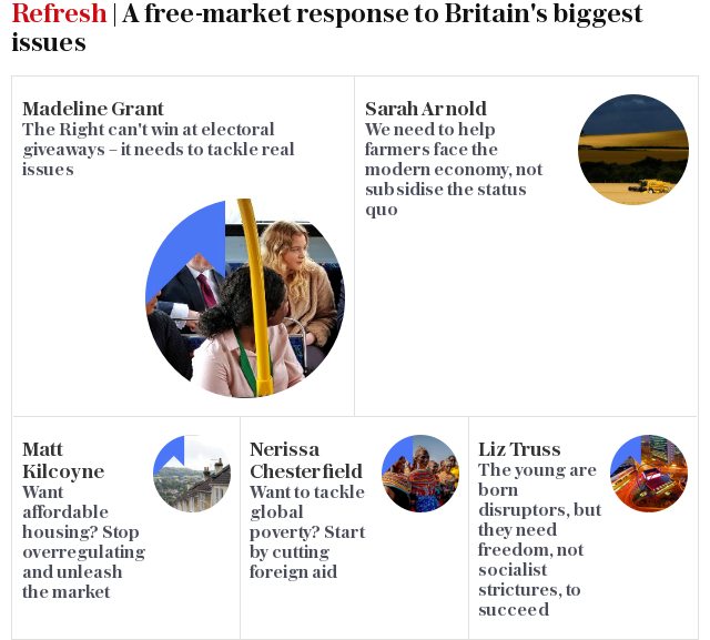 Refresh | A free-market response to Britain's biggest issues