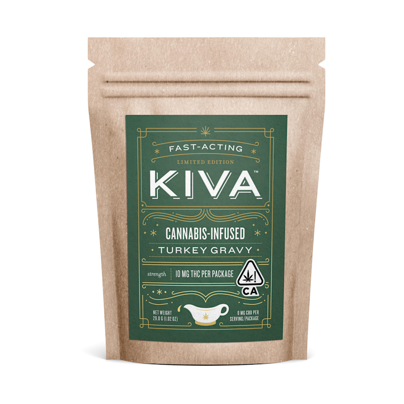 "Kiva's cannabis-infused turkey gravy promises to be ""fast-acting."" But if you can't get your hands on it, we've got plenty of ways to try cannabis cooking at home. (Photo: Courtesy of Ashley Weber/ AutumnCommunications)"