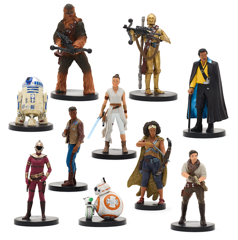 Rise of Skywalker Deluxe Figurine Set (Photo: Disney)