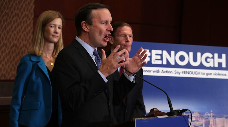 Sen. Chris Murphy Proposes Sweeping Gun Background Checks To Strike 'Fear' Into GOP