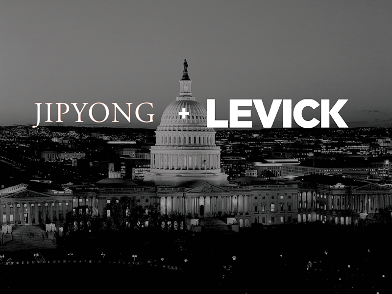 Washington-based communications firm LEVICK announces partnership with leading Korean law firm Jipyong