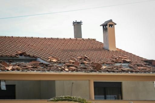 Leslie smashed into homes in the beach resort town of Figueira da Foz, near Coimbra