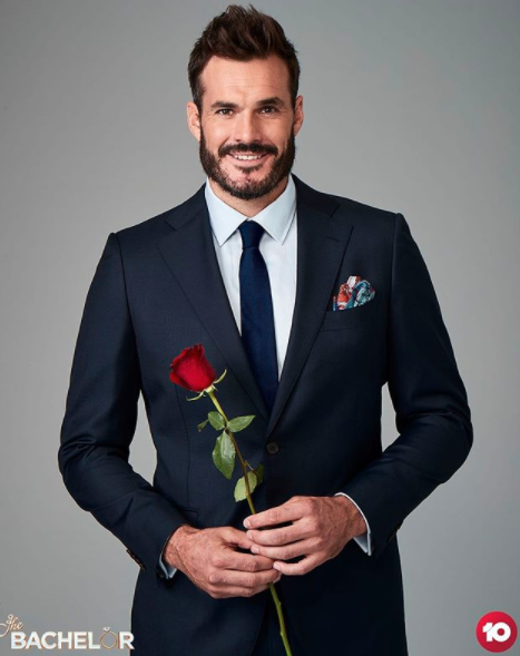 Locky Gilbert in official promo shot for Bachelor 2020