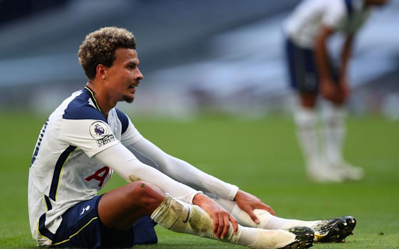 Tottenham players left stunned after Jose Mourinho leaves Dele Alli out of squad for second consecutive game - Shutterstock