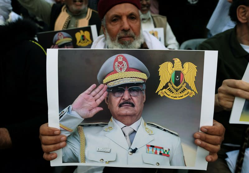 Libyan commander Haftar's forces say they have taken Sirte
