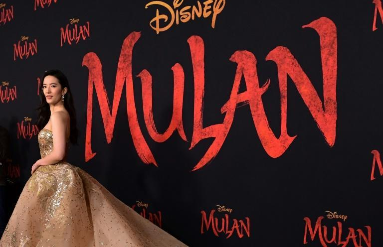 """Disney's """"Mulan"""" was originally due for release in March -- even holding a red-carpet world premiere in Hollywood -- before being delayed multiple times due to the pandemic (AFP Photo/Frederic J. BROWN)"""
