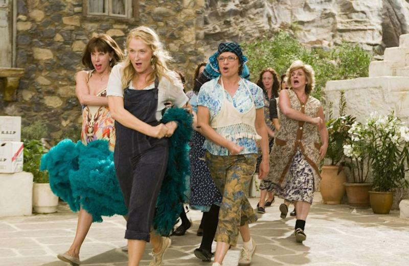 You can dance, you can jive... the ladies of 2008's 'Mamma Mia!' (Credit: Universal)