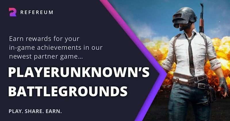 PUBG partnership with Refereum allows gamers to earn crypto