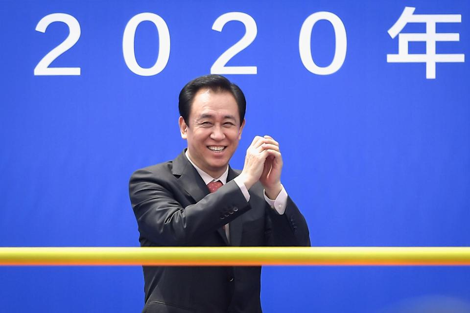Evergrande's Chinese billionaire Hui Ka-yan is plotting to take over the global EV market over the next five years. Photo: Handout