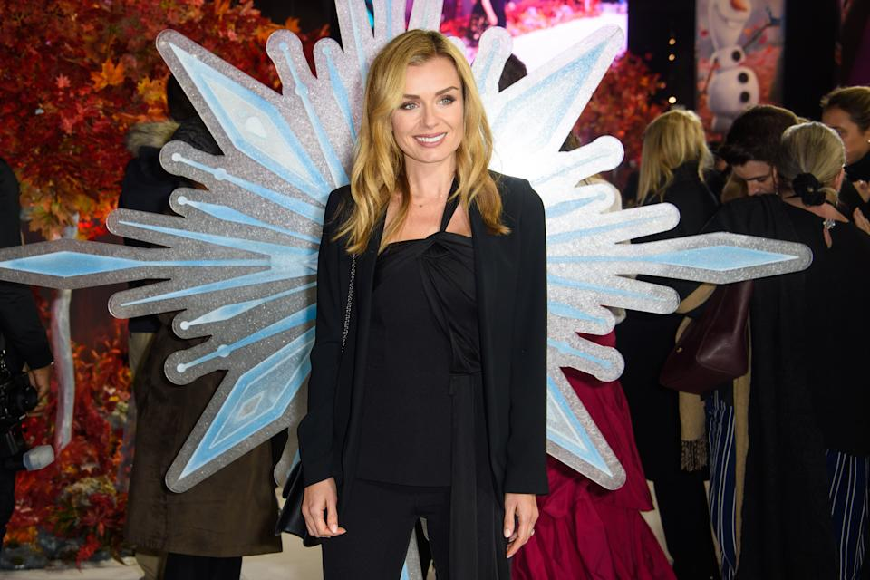 Katherine Jenkins attending the European premiere of Frozen 2 held at the BFI South Bank, London.