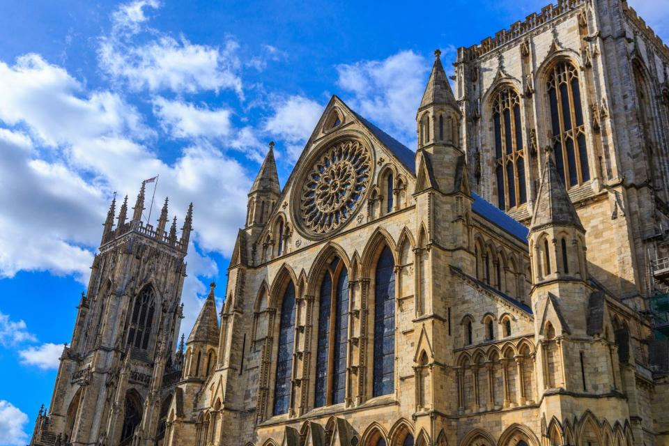 York Minster, the city's famous Gothic-style cathedral (Getty Images/iStockphoto)