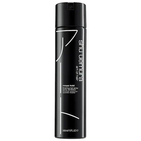 <p>There won't be any flyaways flying away in the fall breeze with this new <span>Shu Uemura Moya Hold Finishing Hair Spray</span> ($42) which offers buildable hold and lightweight, shiny finish.</p>