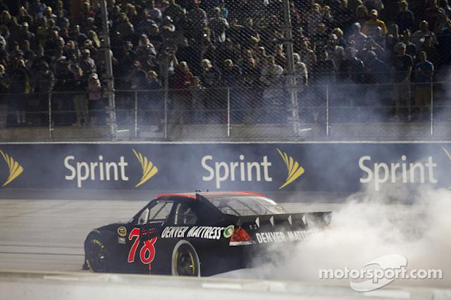 "Regan Smith - Furniture Row Racing - Darlington 2011 <span class=""copyright"">Ashley Dickerson, ASP Inc.</span>"