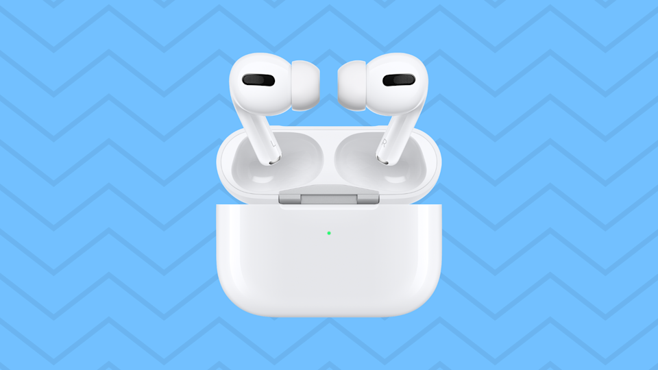 Save 22 percent on these Apple AirPods Pro—all-time lowest price ever! (Photo: Amazon)