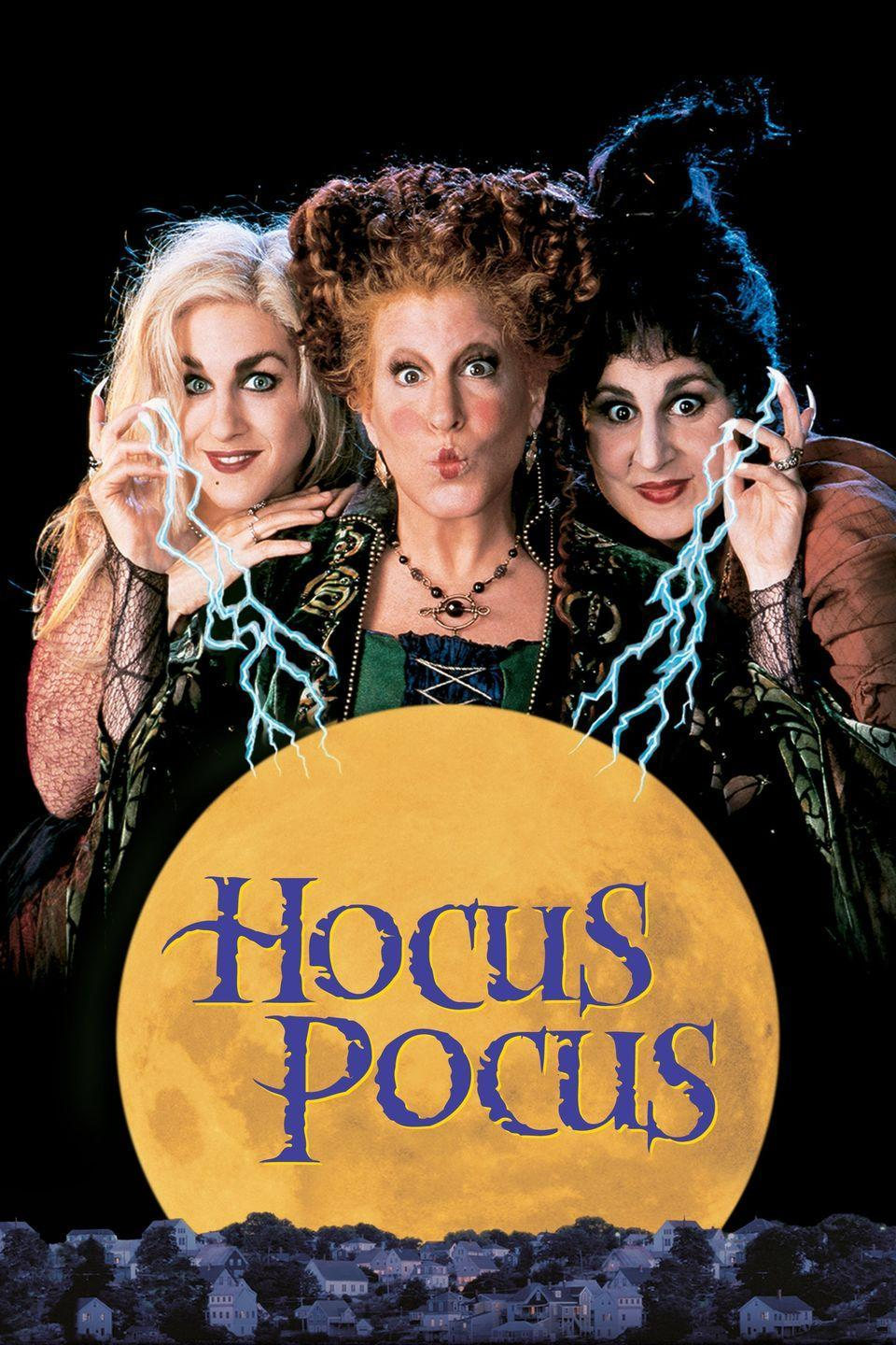 """<p>Three-hundred years after being hung at the Salem Witch Trails, the Sanderson sisters return when three kids accidentally resurrect them. Laugh along as the three kids try to stop these witchy sisters from taking over Salem and and killing children in order to stay immortal. </p><p><a class=""""link rapid-noclick-resp"""" href=""""https://go.redirectingat.com?id=74968X1596630&url=https%3A%2F%2Fwww.disneyplus.com%2Fmovies%2Fhocus-pocus%2F2iCcYcGrx7qD&sref=https%3A%2F%2Fwww.seventeen.com%2Fcelebrity%2Fmovies-tv%2Fg29354714%2Fnon-scary-halloween-movies%2F"""" rel=""""nofollow noopener"""" target=""""_blank"""" data-ylk=""""slk:Watch Now"""">Watch Now</a></p>"""