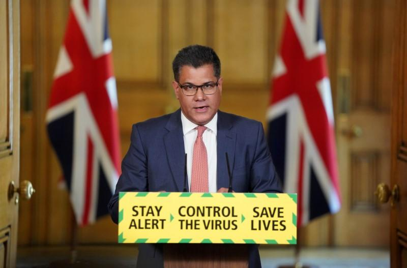 On quarantine, UK minister says we need to protect the nation's health