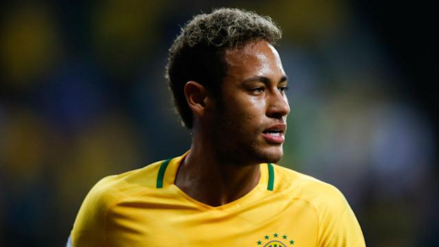 Continuing his recovery from a broken foot, Neymar is desperate to help Brazil win the World Cup.