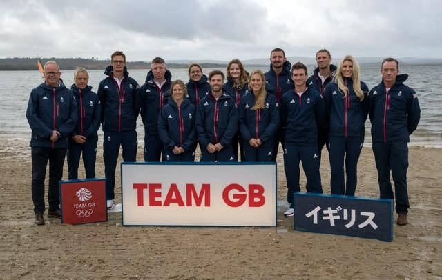 Selected GB sailors will keep their places for the delayed Tokyo Olympics (Andrew Matthews/PA)
