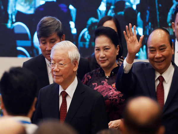 CPVCC General Secretary and Vietnamese President Nguyen Phu Trong (Photo Credit - Reuters)