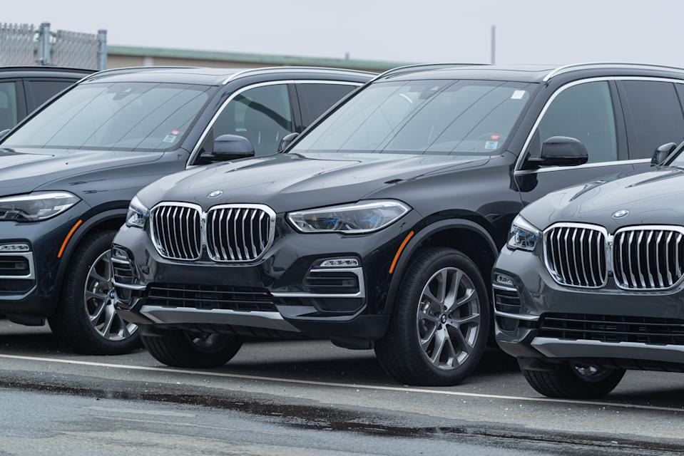 BMW said on Friday its still on course to meet its profit targets for this year despite rising costs of raw material. Photo: Getty