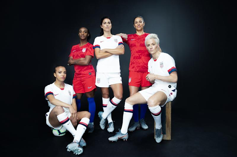 64e2b4b16 Nike Unveils the U.S. Women s National Soccer Team s World Cup Kit