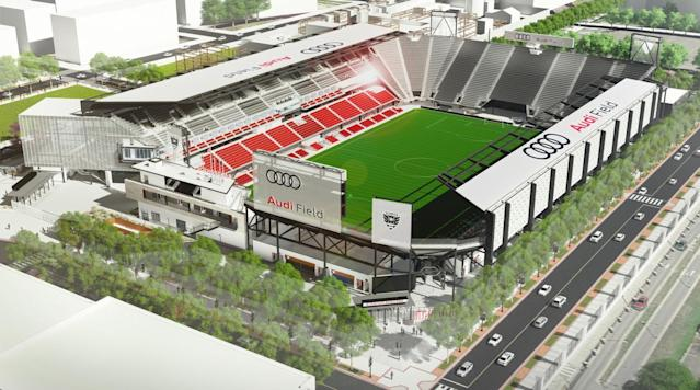 <p>D.C. United is aiming to put an end to a seemingly never-ending quest to move out of RFK Stadium to its own venue and it claims it will begin play at Audi Field at D.C.'s Buzzard Point in 2018.</p>
