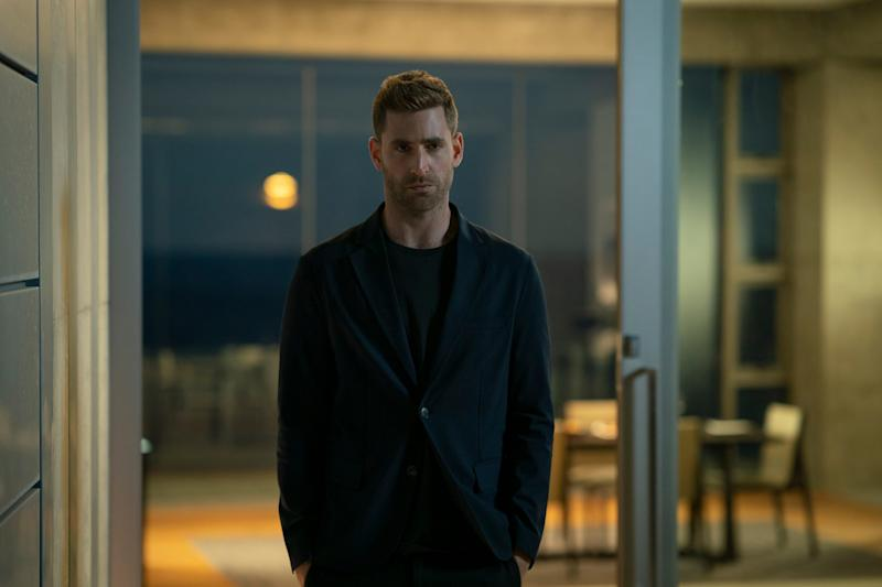 "Oliver Jackson-Cohen plays optics pioneer and terrible boyfriend Adrian Griffin in ""The Invisible Man."""