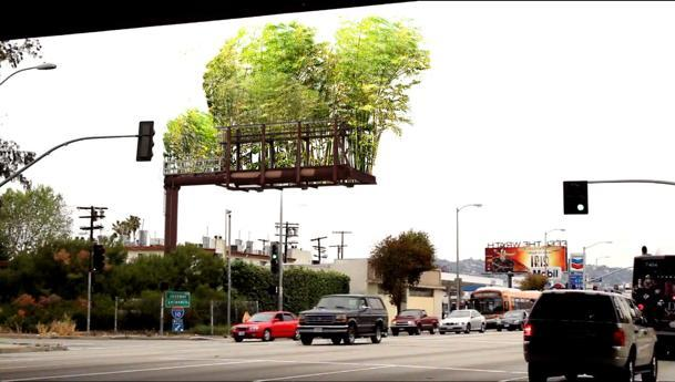 UrbanAir wants to transform billboards to bamboo gardens.