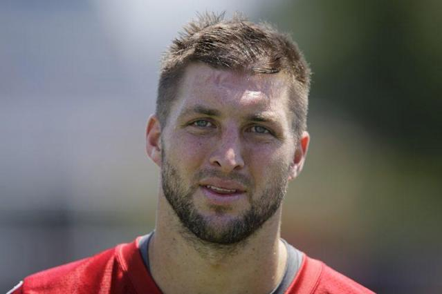Tim Tebow has spent a good part of the past year training to be a baseball player. (AP)