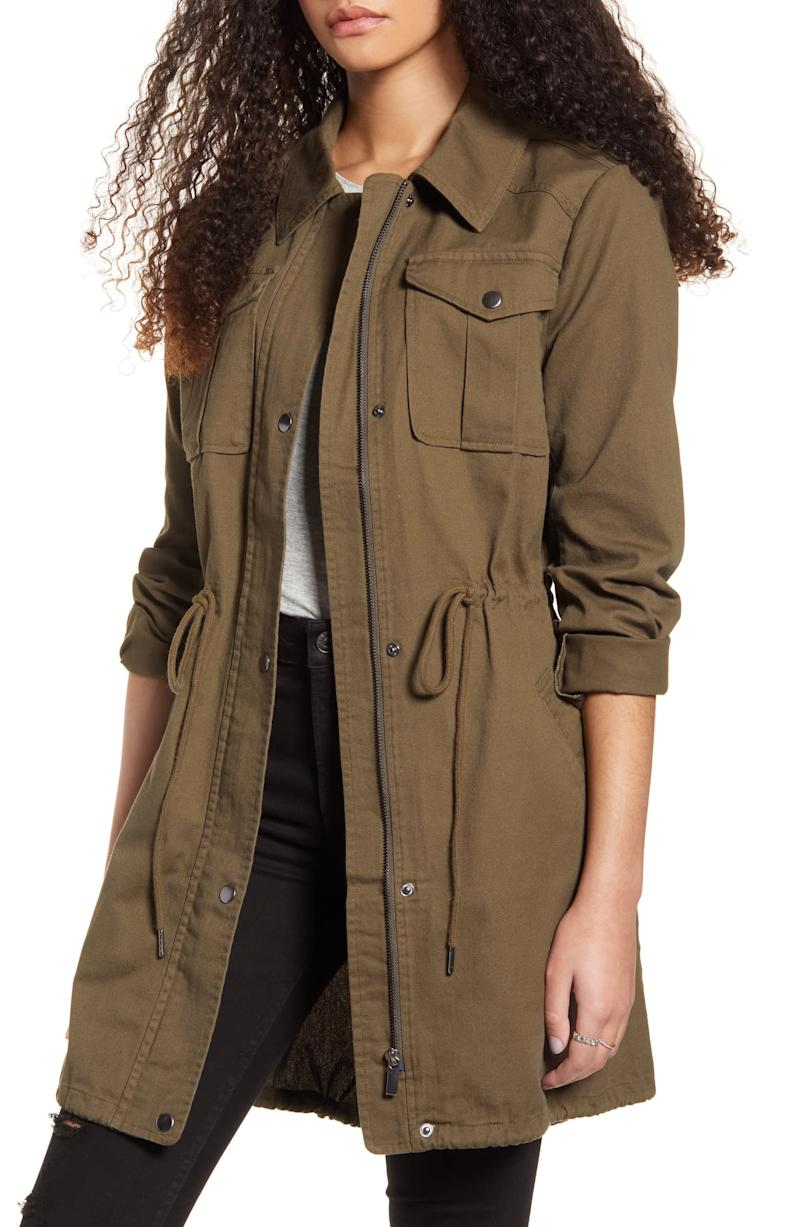 BP. Twill Utility Jacket. Image via Nordstrom.