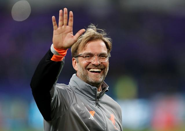 Jurgen Klopp toasted a moral boosting Champions League win: Action Images via Reuters/Paul Childs